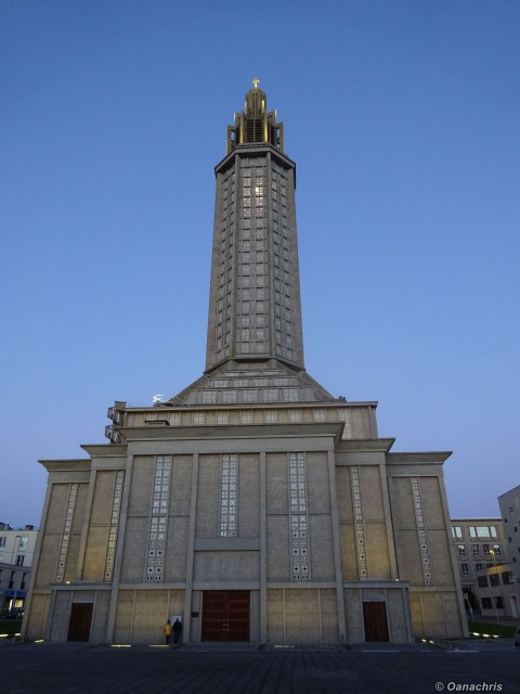 Le Havre Church of Saint Joseph