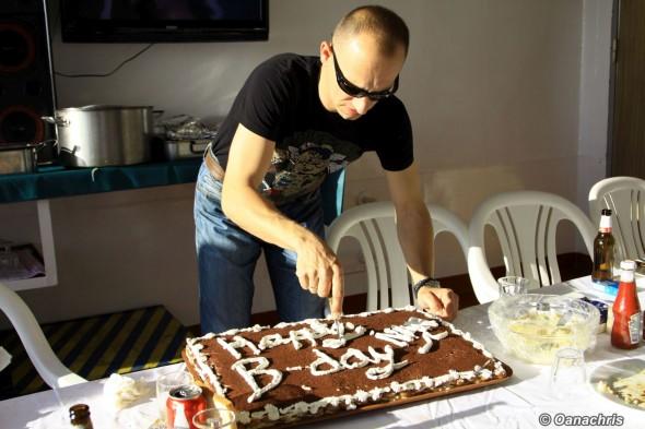 Birthday on board HS Bruckner