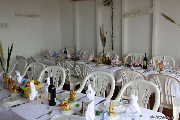 Celebrating Easter on board HS Bruckner