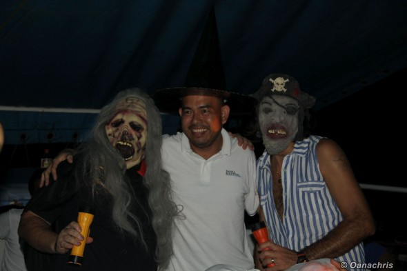 Haloween party on HS Puccini