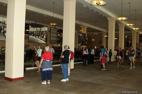Ellis Island - The Baggage Room