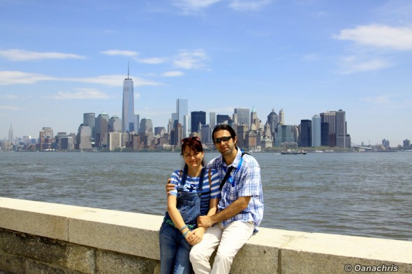 Ellis Island -view towards Manhattan