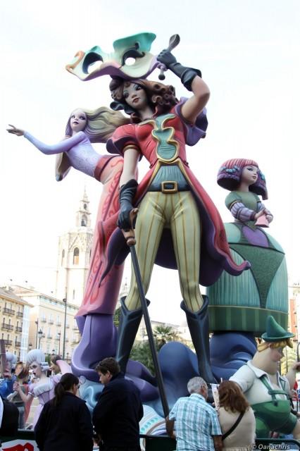 Feria de Falles Valencia