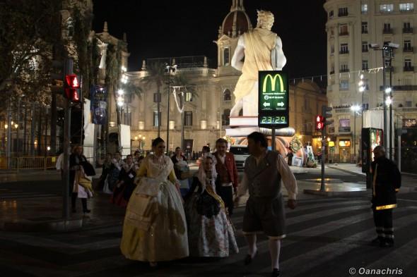 Feria de Falles Valencia - Burning the Falles (1)