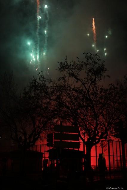 Feria de Falles Valencia - Burning the Falles (2)