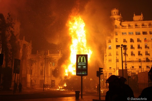 Feria de Falles Valencia - Burning the Falles (6)
