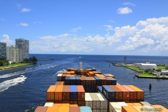 Leaving Port Everglades