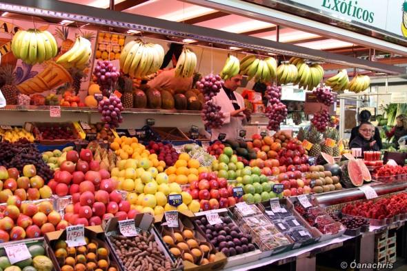 Mercat Central Valencia - Fruits