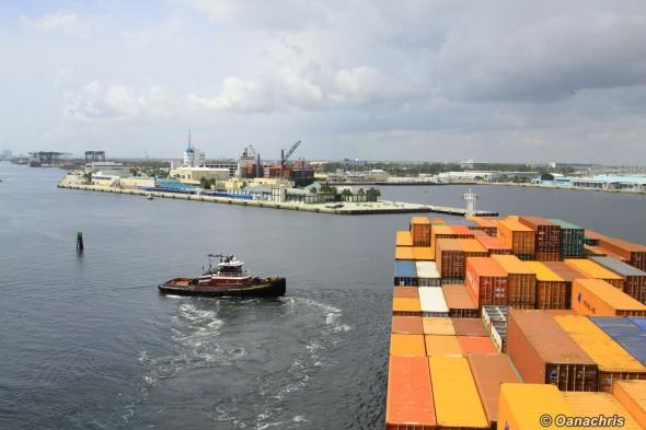 Port Everglades - turning Basin