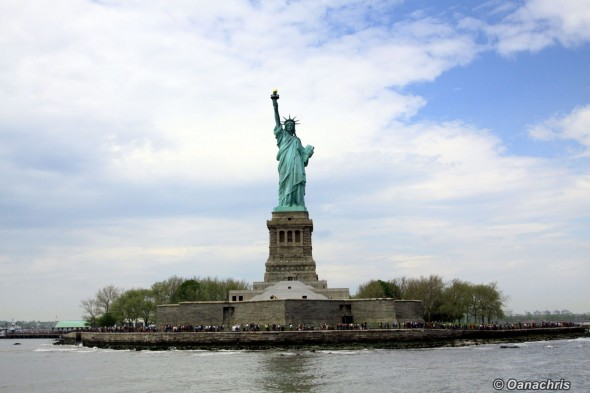 Statue of Liberty - view from the ferry