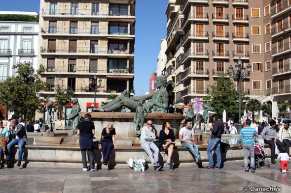 Valencia - Placa de la Reina (3)