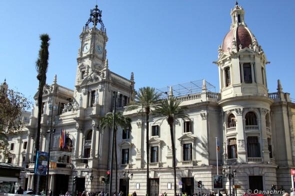 Valencia - Placa del Ajuntamiento