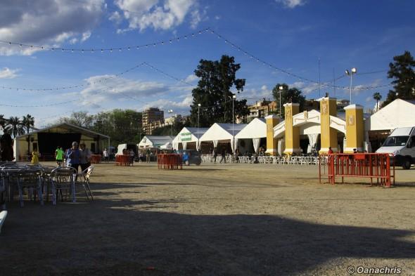 Valencia - Turia Gardens - Feria andaluza (1)