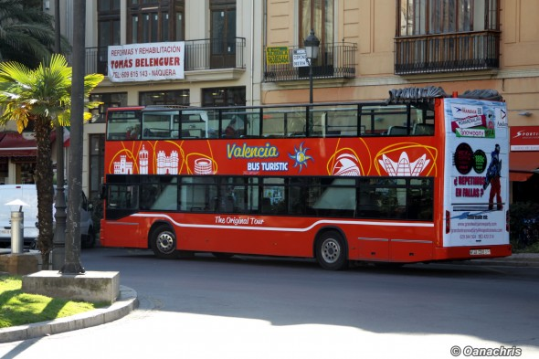 Valencia - sightseeing bus