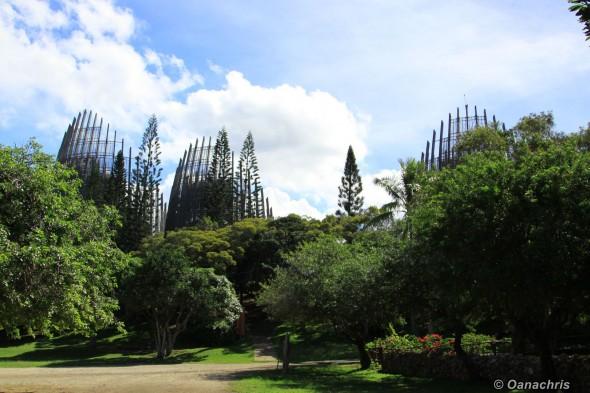 Tjibaou Cultural Centre, Noumea, New Caledonia (1)