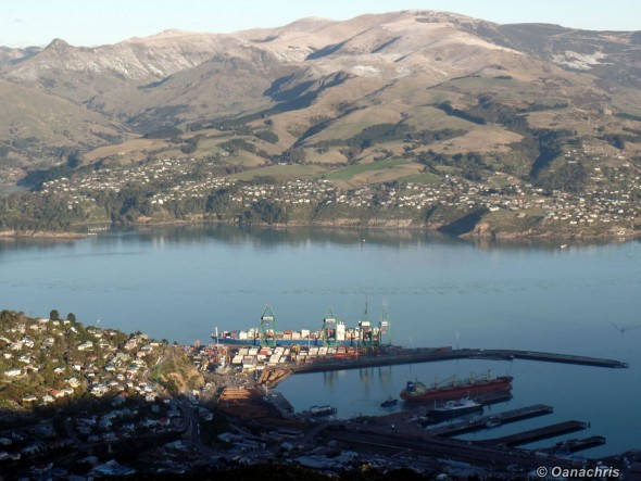 Port of Lyttelton New Zealand