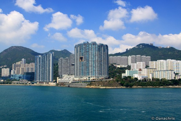 Approaching Hong Kong