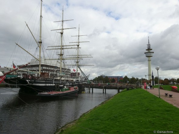 Bremerhaven Waterfront and TV Tower