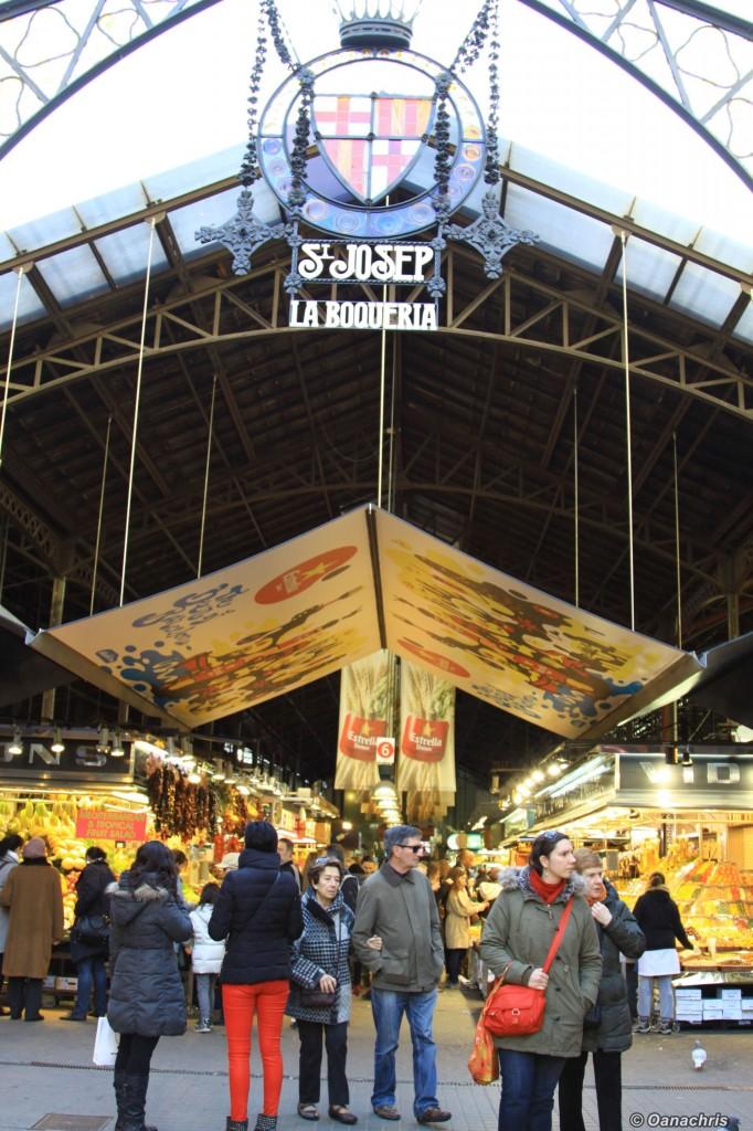 Barcelona Mercat de la Boqueria