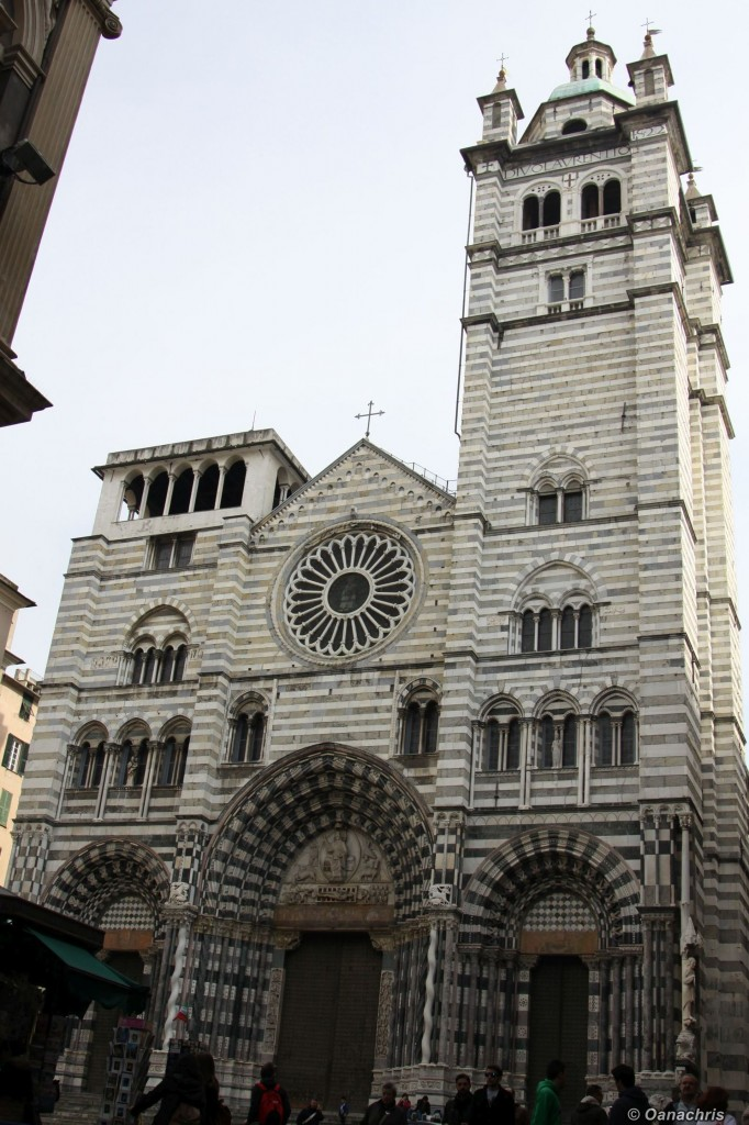 Genoa Basilica San Lorenzo