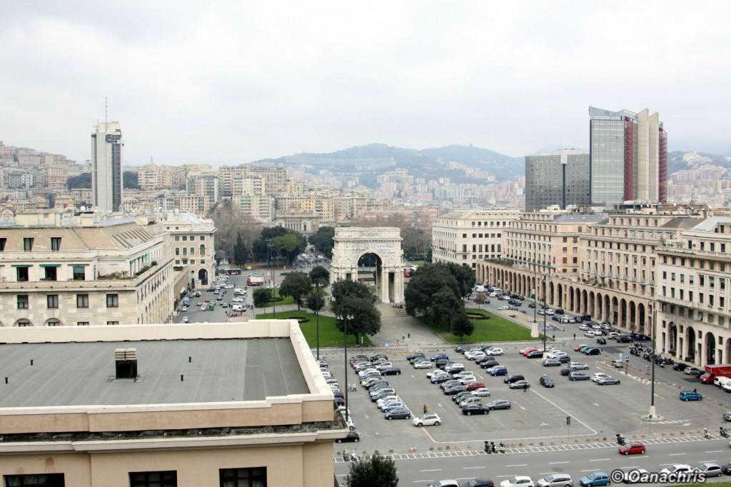 Genoa Piazza della Vittoria