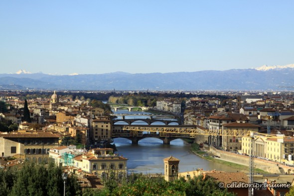 View from Piazza Michelangelo Firenze