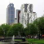 Rotterdam walking around