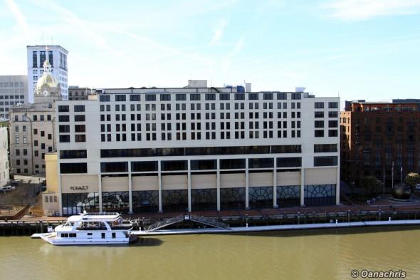 Savannah Georgia Hyatt Hotel Riverside