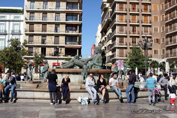 Valencia Placa de la Virgen