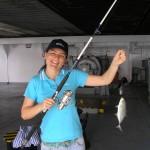 4th of July fishing in Savannah