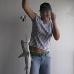 Fishing sharks in Savannah anchorage