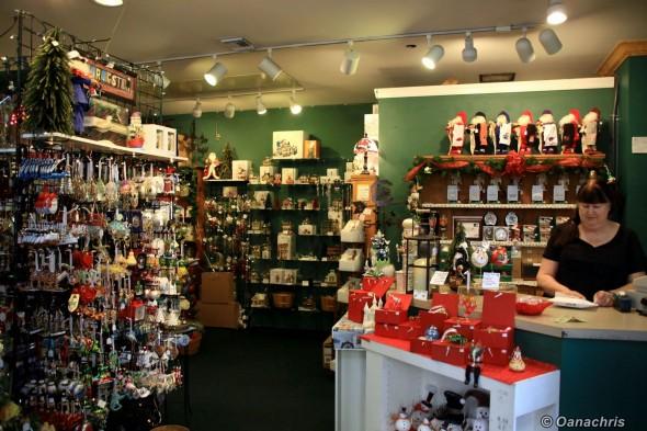 Charleston, Christmas shop Street Market