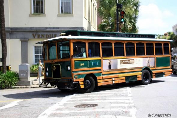 Charleston trolley