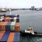 Entering the Port of Veracruz Mexico