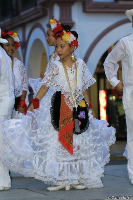 Fiesta on the street Veracruz