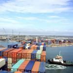 Getting alongside in the port of Veracruz Mexico