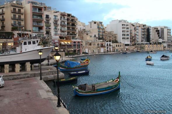 Malta - St. Julien Bay