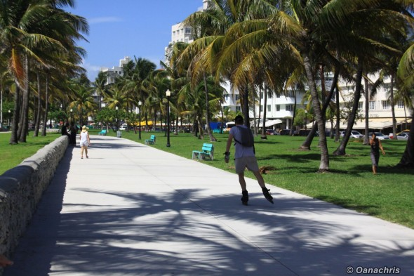 Miami Beach walk