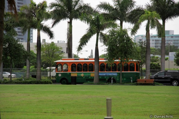 Miami Midtown trolley