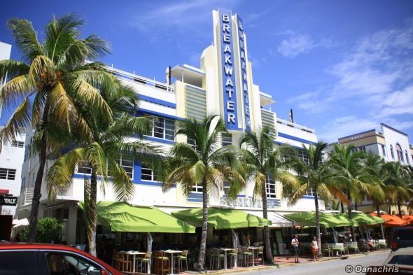 Miami Ocean Drive Boulevard Art Deco