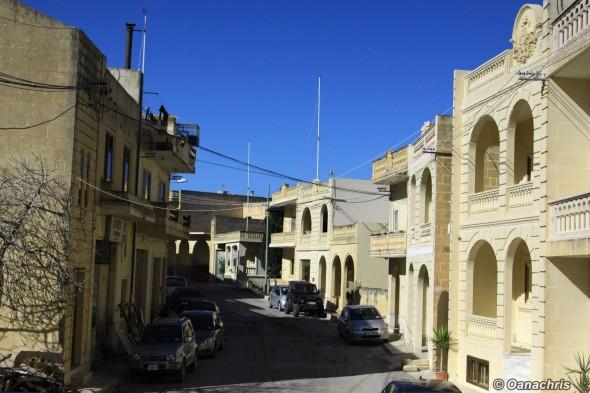 Narrow Streets Gozo Malta