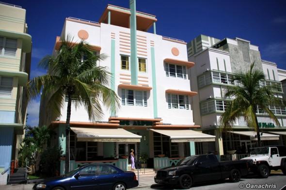 Ocean Drive Boulevard Miami
