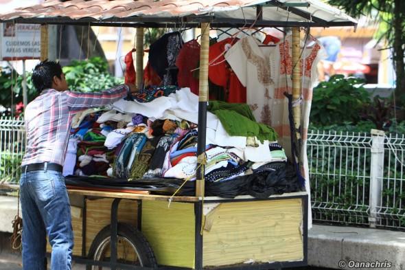 Street vendor Veracruz