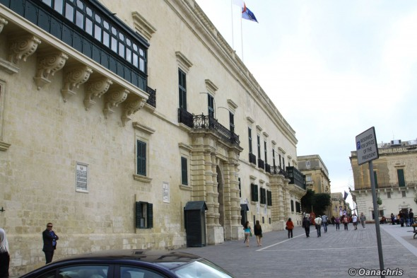 Valetta Palace of Grand Masters