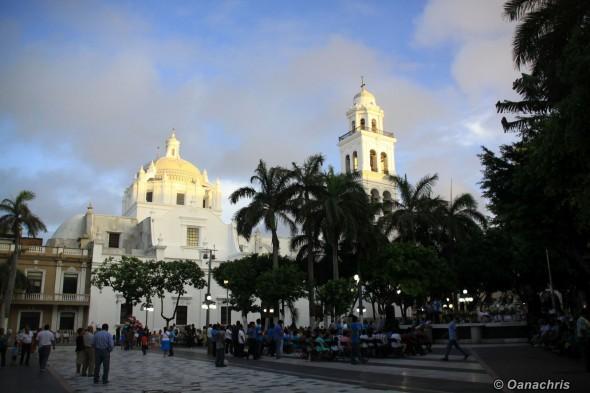 Veracruz Cathedral Square