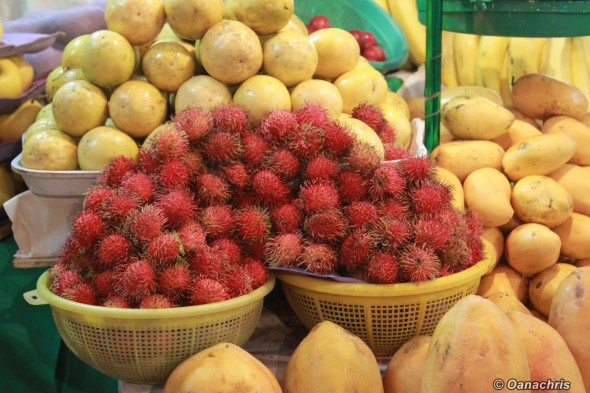 Veracruz Hidalgo Market colorful fruits