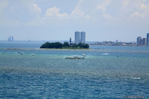 Veracruz Mexico - Isla sacrificios Arrecife Pajaros