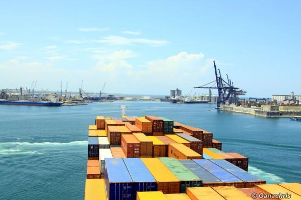 Veracruz Mexico approaching the pier