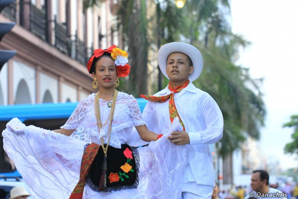 Veracruz - fiesta on the street