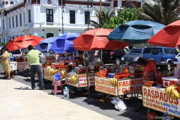 Veracruz street vendors